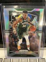 Giannis Antetokounmpo 2019 20 Panini Prizm basketball #152 bucks silver prizm
