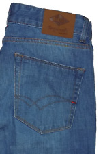 Lee Cooper Straight Fit Indigo Button Fly Jeans VGC 32W 34L
