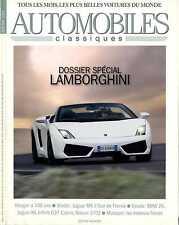 AUTOMOBILES CLASSIQUES n°184 MAI 2009 DOSSIER LAMBORGHINI NISSAN 370Z JAGUAR XK