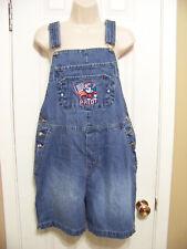 **DISNEY** Women's Denim Jeans Shorts Overalls Size ((S)) 100% Cotton. EUC.