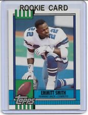 EMMITT SMITH 1990 TOPPS MINT RC ROOKIE CARD DALLAS COWBOYS