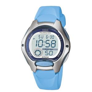 Casio Boys  LW-200-2B LW-200  Digital  Light Blue  Strap   50M   LW200 Watch