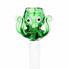 UUYSU Glass Bong Pipe Accessories 18mm Bowl Octopus Piece Water Pipes Smoking