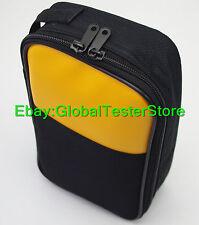 Soft Case/bag for Fluke multimeters 106 hioki sanwa Kyoritsu victor Uni-T UT61E