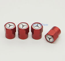 4x For Mercedes-Benz Car Logo Wheel Tire Valve Stems Caps Covers Accessories