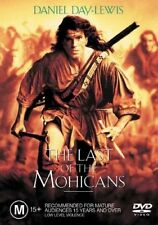 THE LAST OF THE MOHICANS DVD=DANIEL DAY-LEWIS=REGION 4=BRAND NEW AND SEALED