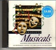 (CR880) Absolute Musicals - 1995 CD