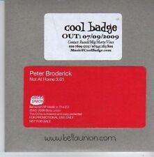 (AQ399) Peter Broderick, Not At Home - DJ CD