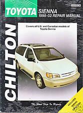 1998-2002 Chilton Toyota Sienna Repair Manual