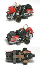 1993 TYCO HO SLOT CAR HARLEY DAVIDSON MOTORCYCLE UNUSED RARER Red SET ONLY 6216