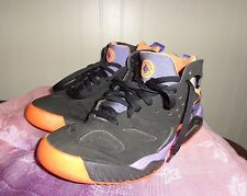 mens Nike Air Tech Challenge Huarache Black Orange Purple 630957 002 sz 8