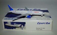 SCHABAK 3551427 Boeing 777-266ER Egypt Air SU-GBP in 1:600 scale