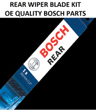 Skoda Rapid Spaceback Rear Windscreen Wiper Blade 2012 Onwards BOSCH
