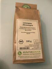 Lemongras, Zitronengras, 100g, bio, Heilkräuter und Naturheilmittel
