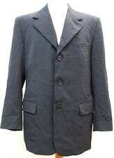 GIANNI VERSACE COUTURE Men's Black Single Breasted Suit Jacket EU50 UK40