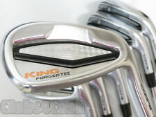 Cobra KING Forged TEC Irons Steel 4-P .. CLEAN