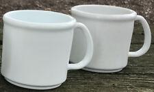 100 Plastic Coffee Mugs New Blank Wholesale Lot Catering Supply Bulk Set - 8oz
