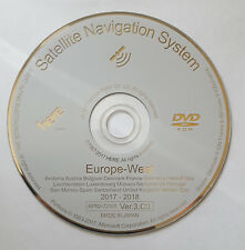 LATEST 2018  HONDA SAT NAV DVD MAP UPDATE DISC VER.3.C0 WEST