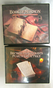 AUDIO:DOCTRINE & COVENANTS PEARL OF GREAN PRICE + BOOK OF MORMON LDS 39 DISK SET