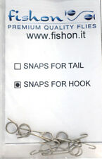 Paolo Pacchiarini´s SNAP FOR HOOK 10 Stück fishon 10 x Snap for Hook