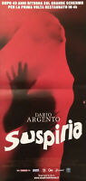 SUSPIRIA ('77) Italian RARE ORIGINAL 4K Poster (Locandina)