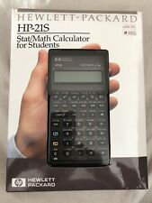Hp 21s Calculator Boxed Ovp Mint