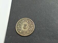 5 Rappen 1877 Schweiz (25619)