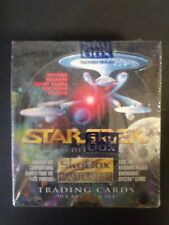 1993 STAR TREK SKYBOX MASTER SERIES EDITION FACTORY SEALED BOX