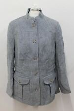 NEW DUBARRY Ladies 3347-10 Malahide Blue Linen Jacket Size UK12 EU38