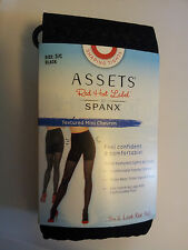 Womens-Size-3C-Shaping-Tights-Black-Assets-Spanx-Textured-Mini-Chevron-5'3-5'11