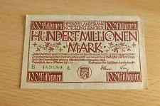 *Hessisches Landesbank 100 Millionen Mark 1923 *(ORD2)