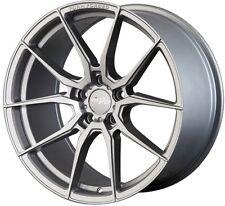 19X8.5 +35 MIRO F25 5X114.3 SILVER WHEEL Fits Ford Mustang Gt Wrx Sti 5X4.5
