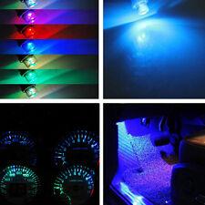 5pcs Blue LED T10 light Motorcycle Car Wedge Side Bulb Interior lamp 12V HOT SM