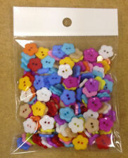 Acrylic Flower Crafts Sewing Buttons