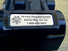 SETINA POLICE  ELECTRIC GUN LOCK/MOUNT WITH OVERRIDE KEY