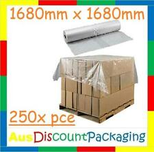 1680 x 1680mm CLEAR Pallet Top Cover Sheets Roll of 250 piece w/Proof cover