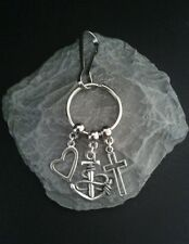 Faith Hope Love Key Ring/Bag charm.
