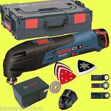 BOSCH Akku-Multifunktionswerkzeug GOP 10,8 V-Li 1x 2,5 + L-Boxx Multicutter Volt