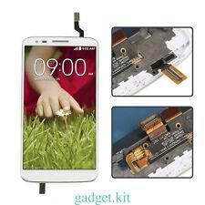 LCD Screen + Touch Digitizer Lens Assembly + Frame For LG Optimus G2 D802 White