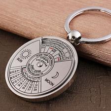 Calendario Personalizado Llavero Anillo Keyring Llave Llavero Coche Keychain