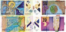 MACEDONIA - Lotto 2 banconote 10/50 denari 2018 Polymer UNC FDS