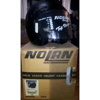 CASCO MOTO JET NOLAN N40 FLAT TAGLIA XS OPACO MOTORCYCLE HELMET ECE SIZE XSMALL