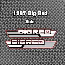 87' 1987 ATC 250ES vintage ATV Big Red Side Cover Stickers Decals graphics