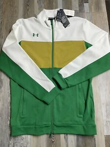 NEW Under Armour ONFIELD Notre Dame Mens Jacket SIZE MEDIUM Rare