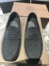 Louis Vuitton men's Loafers (driving loafers)  LV checkered in suede