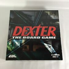 Dexter The Board Game Showtime TV Series 2010 Complete Sealed Cards