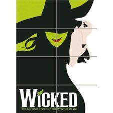Wicked Broadway Musical Book Oz Witch New Giant Wall Art Print Poster
