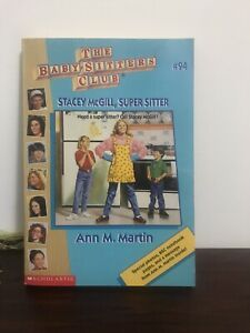 Rare! The Babysitters Club Vintage Book #94 Stacey McGill Super Sitter