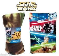 Coperta Plaid in Pile Star Wars Manta polar Fleece Blanket Characters 100X150