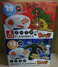 Atari & Legends Flashback Blast! 2 Wireless Controllers ~ 32 Plug N Play Games